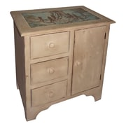 Cheungs 1 Door and 3 Drawer Cabinet