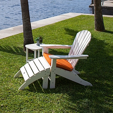 POLYWOOD South Beach 3 Piece Adirondack Seating Group
