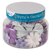 Alvin and Co. Irene's Garden O Blooms Flower Jar (Set of 60); Purple