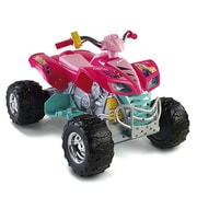 Fisher-Price Power Wheels Barbie Kawasaki KFX 12V Battery Powered  ATV