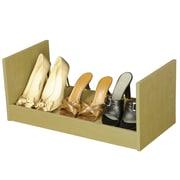 Venture Horizon Stackable Shoe Rack; Oak