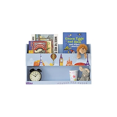 Tidy Books Bunk Bed Bedside Shelf; Around The World