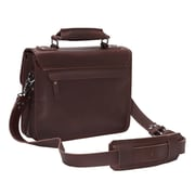 Vagabond Traveler Messenger Bag; Coffee Brown