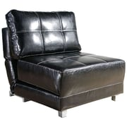 Gold Sparrow New York Leather Convertible Chair