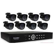 First Alert DCA8810-520 SmartBridge Indoor/Outdoor 8-Channel DVR Video Security System