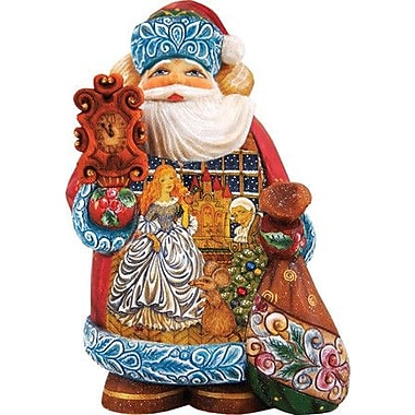 G Debrekht Derevo Nutcracker Santa
