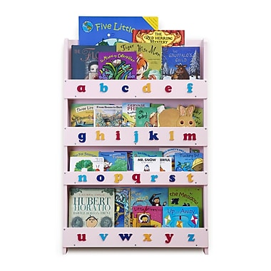 Tidy Books Kid's Bookcase; Pink