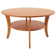 Manchester Wood Coffee Table; Golden Oak