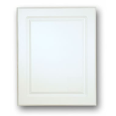 American Pride Raised Panel 16'' x 26'' Recessed Medicine Cabinet