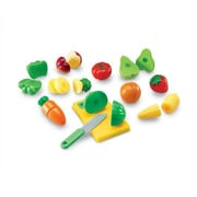 Learning Resources 23 Piece Pretend and Play Sliceable Fruits and Veggies Set