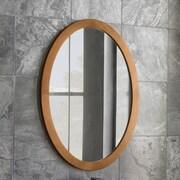 Ronbow Oval Wall Mirror; Cinnamon