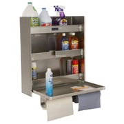 PVIFS Storage Solutions Double Cabinet 30'' H 3 Shelf Shelving Unit Starter
