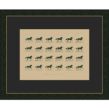 Melissa Van Hise Muybridge Riders lll Framed Graphic Art