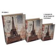 Cheungs Paris / Eiffel Tower Book Box (Set of 3)