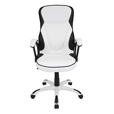 LumiSource Storm High-Back Executive Chair; White