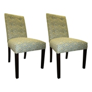 Sole Designs Kacey Side Chairs (Set of 2); Capri