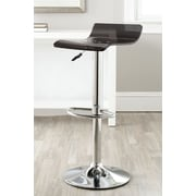 Safavieh Yance Adjustable Height Swivel Bar Stool with Cushion