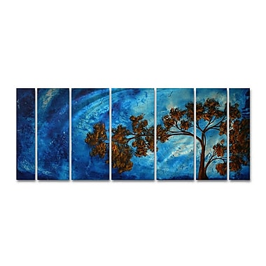 All My Walls 'To The Sky Ii' by Megan Duncanson 7 Piece Painting Print Plaque Set