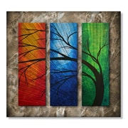 All My Walls 'In Living Color II' by Megan Duncanson Original Painting on Metal Plaque