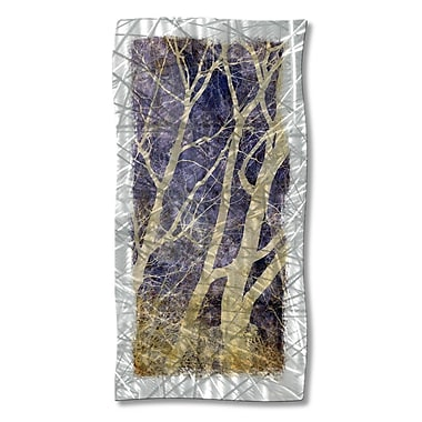 All My Walls 'Abstract Forest' by Ash Carl Graphic Art Plaque