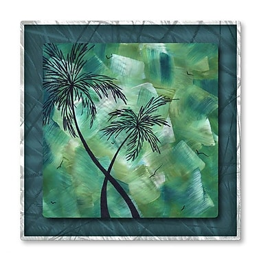 All My Walls 'Tropical Dance III' by Megan Duncanson Graphic Art Plaque
