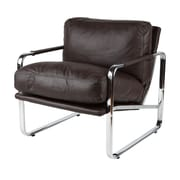 Whiteline Imports Magi Chair; Chocolate