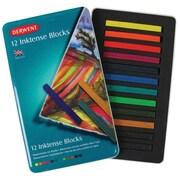 Derwent Inktense 12 Piece Block Color Set