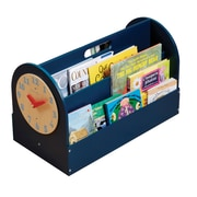 Tidy Books Portable Book Box; Blue