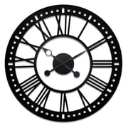 River City Clocks Oversized 38'' Skeleton Tower Wall Clock