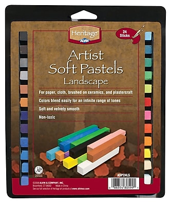 Alvin and Co. Landscape Soft Pastels (Set of 24) WYF078276382752