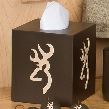 Browning Tissue Box Cover