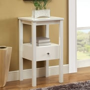 Hokku Designs Waldon End Table; White