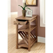 Hokku Designs Waldon End Table; Rustic Oak