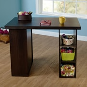 TMS Wood Craft Table; Espresso