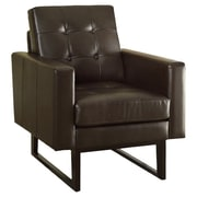 Monarch Specialties Inc. Bonded Leather Match Arm Chair