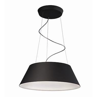 Philips Cielo 4 Light Drum Pendant; Black