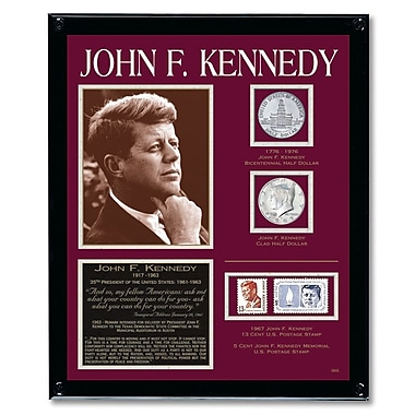 American Coin Treasure Kennedy Tribute Framed Memorabilia