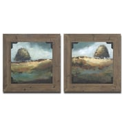 Uttermost Trees of Love 2 Piece Framed Painting Set
