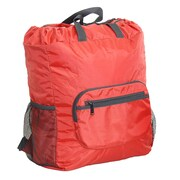 Netpack U-zip Backpack and Tote Bag; Red