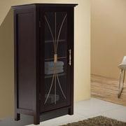 Elegant Home Fashions Delaney 15'' W x 34'' H Cabinet