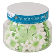Alvin and Co. Irene's Garden O Blooms Flower Jar (Set of 60); Green