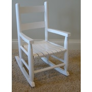 Dixie Seating Child's Rocking Chair; White