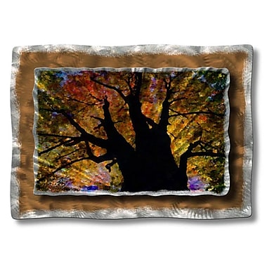 All My Walls 'Brilliant Branches' by Ash Carl Designs Painting Print Plaque