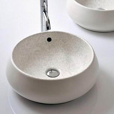 Bissonnet Area Boutique Tulip Bathroom Sink