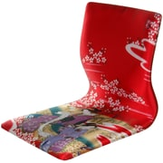 Oriental Furniture Tatami Geisha Meditation Fabric Lounge Chair