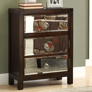 Monarch Specialties Inc. Bombay 3 Drawer Chest