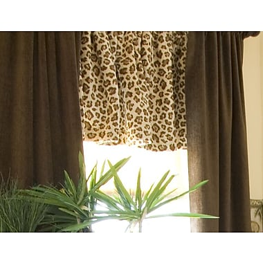 Glenna Jean Tanzania Blackout Curtain Panels (Set of 2)