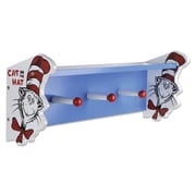 Trend Lab Dr. Seuss Cat in The Hat Shelf with Pegs