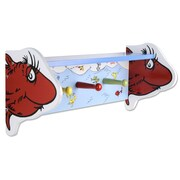 Trend Lab Dr. Seuss 1 Fish 2 Fish Shelf with Pegs