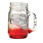 Wine Enthusiast Companies Hand Mason Jar (Set of 4)